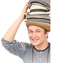 """Účastnil se několika řad televizní soutěže Česko Slovenská Superstar, zde ale neuspěl. Také zpíval a hrál na kytaru v kapele Burnout.[3] Na začátku roku 2012 publikoval pod jménem Voxel singl V síti s textem Xindla X, ke kterému zanedlouho vyšel i videoklip.[4] Texty dalších singlů Hitmaker (z července 2012) a Superstar (z ledna 2013) napsal Pokáč, se kterým Lebeda občas vystupuje v duu. V březnu 2013 byl vyhlášen jako objev roku na hudebních cenách Óčka, od diváků dostal 19 422 hlasů.[5] Na podzim 2013 se v rámci cen Český slavík Mattoni 2013 umístil na druhém místě v kategorii """"Hvězda internetu"""" (poté, co byl ze soutěže vyřazen původní vítěz rapper Řezník).[6] V květnu 2014 vydal debutové album All Boom!, které zaznamenává spíše starší repertoár a obsahuje i dosavadní singly. Během těch dvou let sólové kariéry se ale od původního elektropopu Voxel posunul spíše ke kytarovému písničkářství, nové album plánoval pojmout více akustičtěji.[7][8] Album vyšlo v září 2015 pod jménem Motýlí efekt. Již v červnu jej předcházel singl Jednou.[9] V rámci cen Český slavík Mattoni 2014 vyhrál v kategorii """"Hvězda internetu"""" a získal nominaci i v kategorii objev roku.[10] Na začátku roku 2015 podnikl několik koncertních turné s kapelami O5&Radeček a UDG.[11] Na cenách Anděl 2014 byl nominován v kategorii objev roku, nominaci ale neproměnil."""